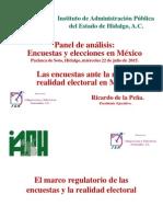 Las encuestas ante la nueva realidad electoral de México