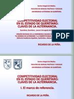 Competitividad electoral en el Estado de Querétaro