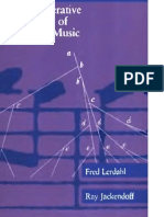 Generative Theory of Tonal Music - F. Lersahl, R. Jackendoff (MIT) WW