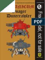 PAPERCRAFT Onager Dunecrawler