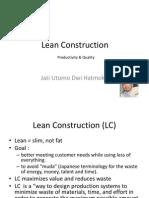2 Lean Construction