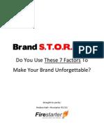 Brand STORIES - Report
