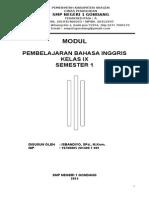 Modul Bahasa Inggris Smp Kelas 9 Sem 1