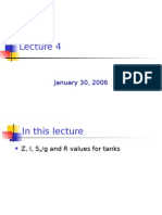 Water Tanks Lecture 4