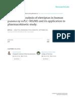 2011_Elitriptan - Analytical BioAnalytical Chemistry (Springer)