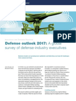 Defense Outlook 2017 a Global Survey of Defense-Industry Executives