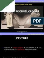 Identificacion Del Cadaver