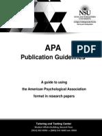 Apa Handbook