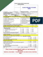 Audit Checklist for Central Lines (Upload)