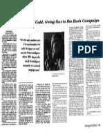 Bush CIA Buddies Campaign Trail 1980