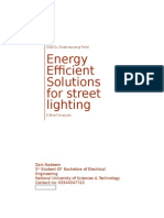 Efficient Energy Solutions for Street Lighting at OGDCL