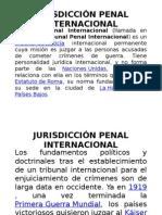 Jurisdicción Penal Internacional
