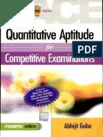 Quantitative Aptitude for Competitive Examinations - Abhijit Guha
