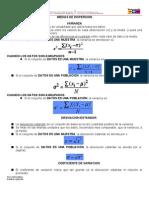 Medidas de dispersion y ejercicios