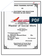 FaisalRecruitment and Selection in Air India