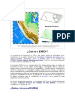 El Niño en el Perú