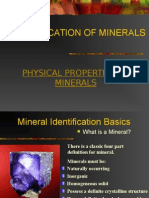Physical Properties of Minearls