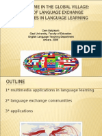 5- Calling Home in the Global Village- The Use of Language Exchange Communities in Language Learning