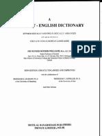127000ds456A Sanskrit-English Dictionary