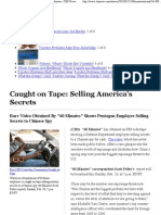 Caught on Tape- Selling America's Secrets