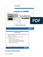 LabView, 6 Hours Intro