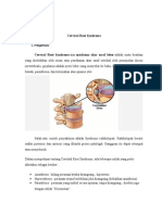 Cervical Root Syndrome.docx