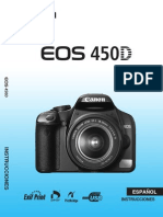 Manual Cámara Canon 450D