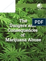 Dangers Consequences Marijuana Abuse