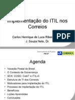 Caso Correios ITIL