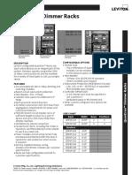 Data Sheet - Quantran Dimmer Racks