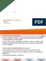 FFE-AulaCap.15-Criticas_escola-19-11-2012