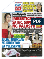 Pinoy Parazzi Vol 8 Issue 100  August 17 - 18, 2015
