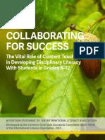 ccss-disciplinary-literacy-statement