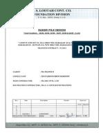 Pile design-  2A-22, 2A-24, 2A-25,2A-27 to 2A-29 - 6 LOC