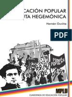 Educacion popular y hegemonia
