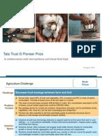 Tata Trust i5 Pioneer Prize