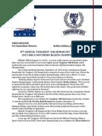 2015 Toughest 10K Kemah Pre-Race Press Release