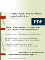 Aula Organizações Internacionais