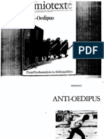 Semiotexte Anti Oedipus - From Psychoanalysis to Schizopolitics