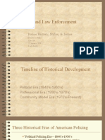 Police History, Styles, & Issues Presentation
