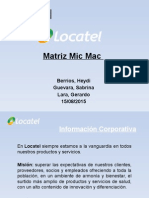 Matriz Mic Mac Locatel