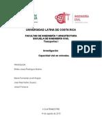 Informe de Capacidad de Rotondas