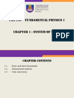 Chapter 1 - System of Units