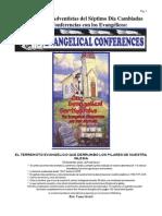 El Terremoto Evangelico Que Derrumbo Los Pilares de Nuestra Iglesia