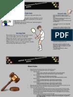 GFTS Badminton Rules 2015