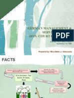German Management Services vs CA