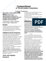 Compensaver Oil Delivery System Installation Instructions Revised 08-15