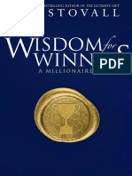 Wisdom for Winners - Stovall, Jim