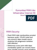 Komunikasi WAN Dan Infrastruktur Internet #2