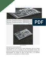 Acelerómetro Microcontrolador ATMEL